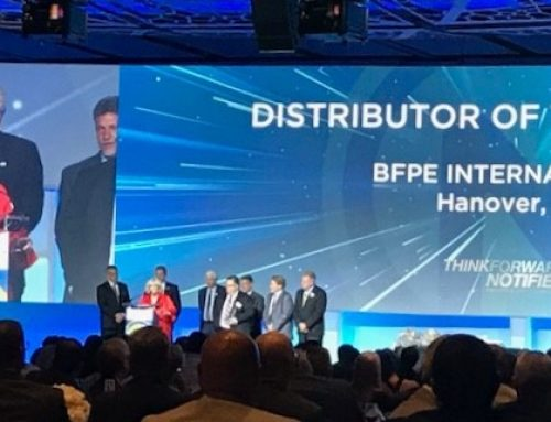 2018 Notifier Distributor of the Year!!!