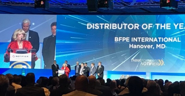 2018 Notifier Distributor of the Year!!! - BFPE International